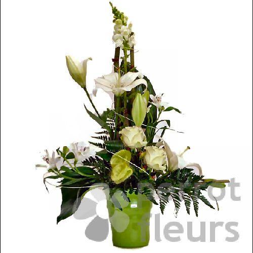 Compositions Florales Nos Confections Composition Lin Aire